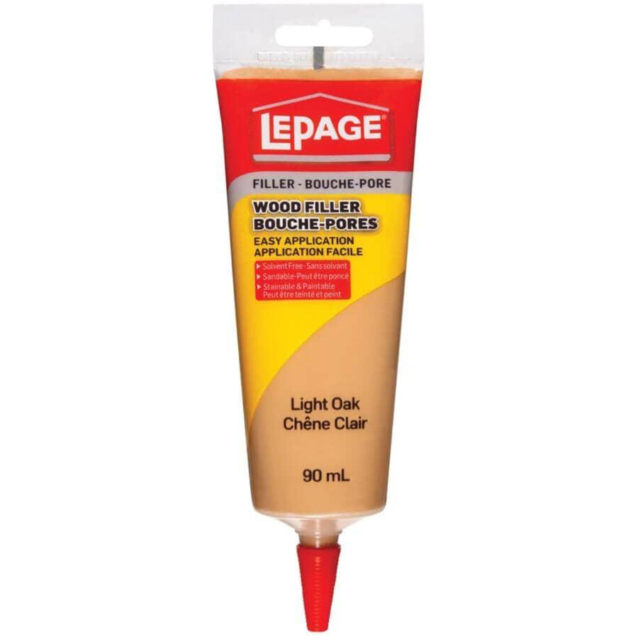 LEPAGE:Tinted Wood Filler - Light Oak, 90 ml