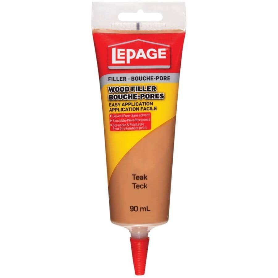 LEPAGE:Tinted Wood Filler - Teak, 90 ml