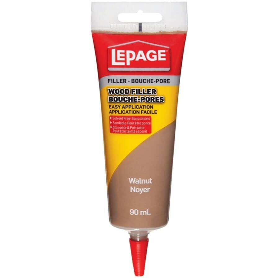 LEPAGE:Tinted Wood Filler - Walnut, 90 ml