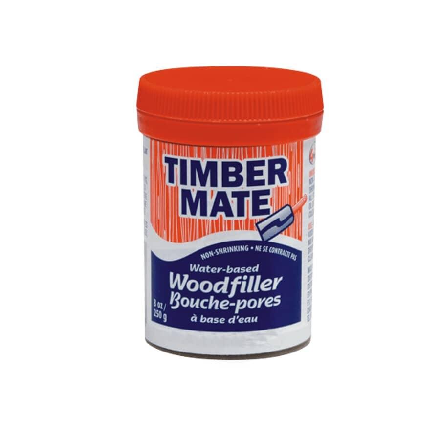 TIMBERMATE:Water-Based Wood Filler - Walnut, 250 g