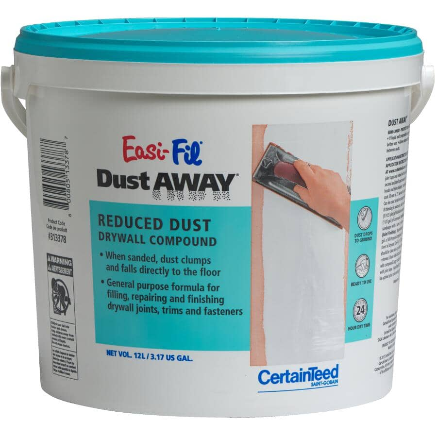 CERTAINTEED:12L Easi-Fil Dust Away Joint Compound