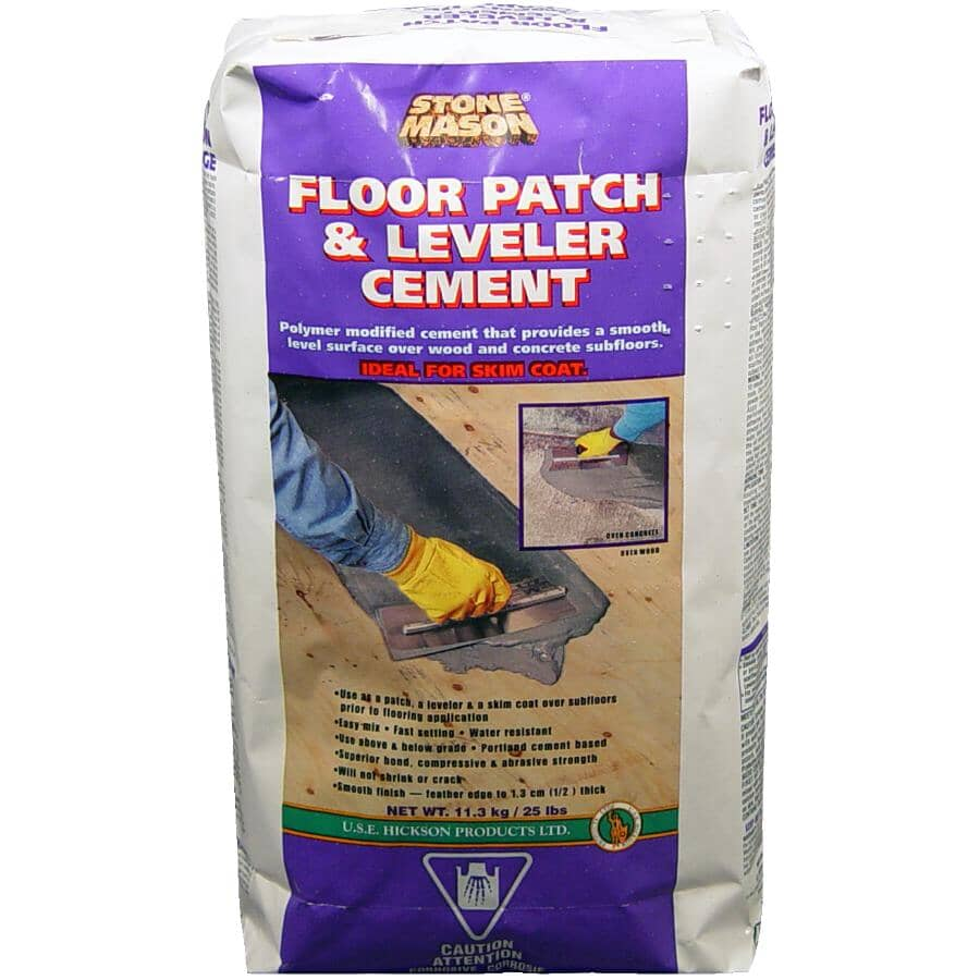STONE MASON:Floor Patch & Leveler Cement - 11.3 kg