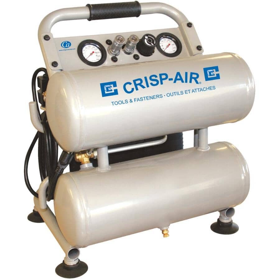 CRISP-AIR:4G 1.8 HP Twin Stack Air Compressor