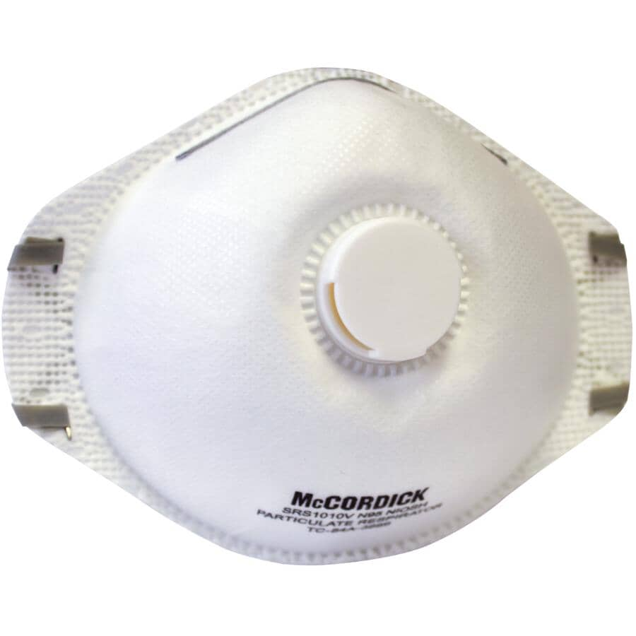 WORKHORSE:N95 Disposable Respirator Mask - with Exhalation Valve