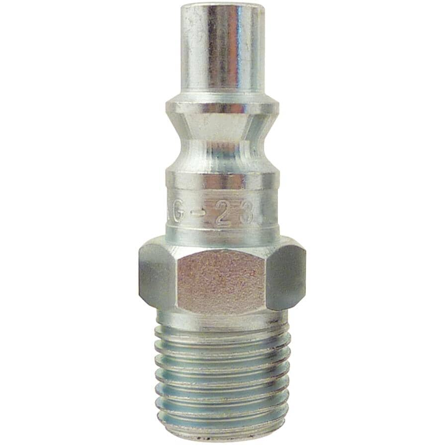 """TOPRING:2 Pack 1/4"""" x 1/4"""" Male National Pipe Thread Coupler Plugs"""