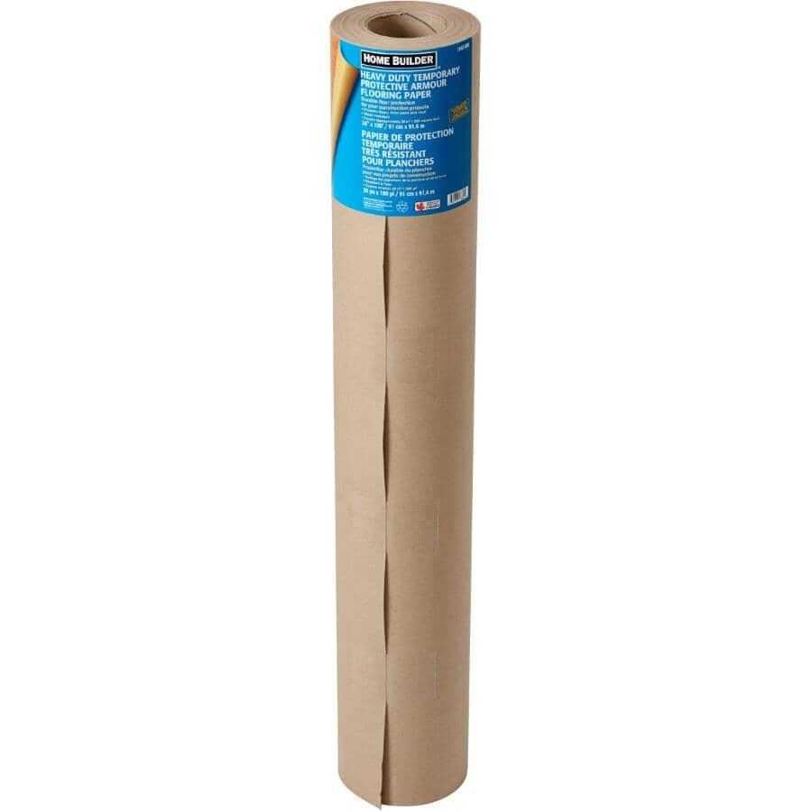"""HOME BUILDER:Floor Armour Heavy Duty Protective Floor Paper - 36"""" x 100'"""