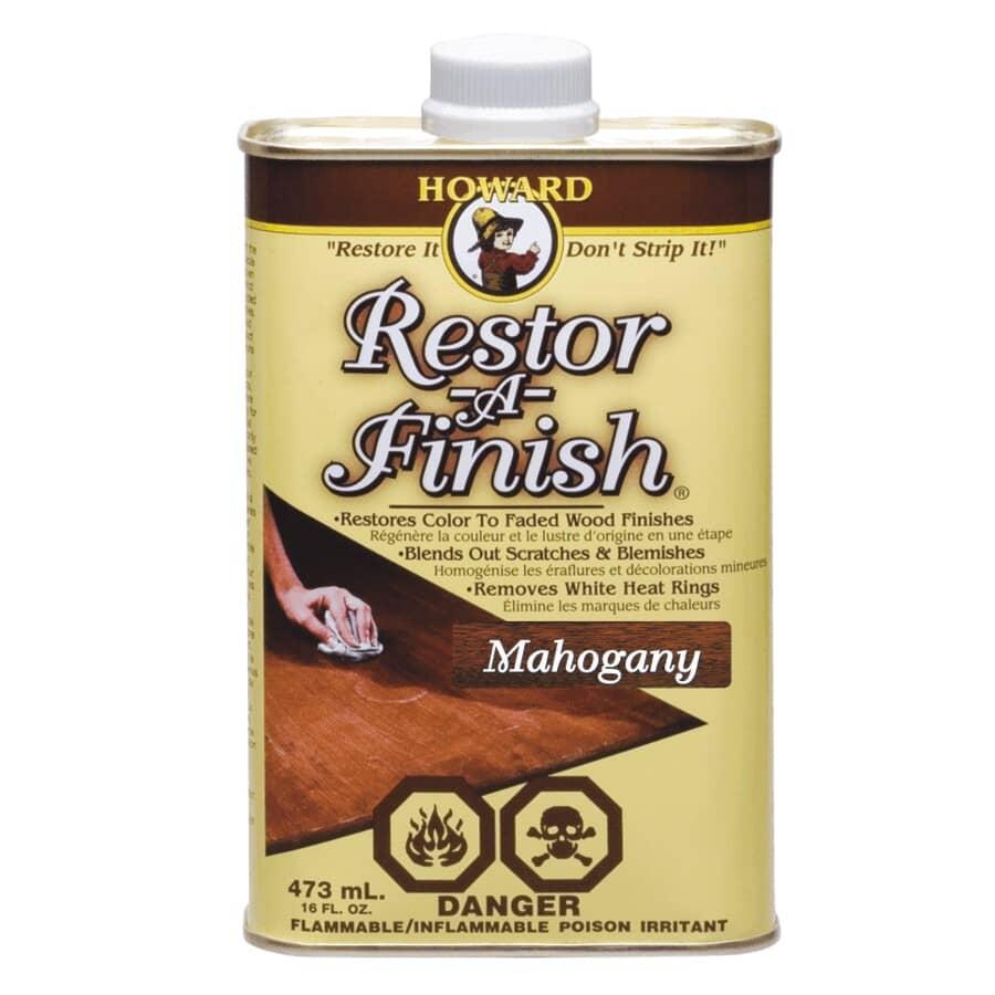 HOWARD:Restor-A-Finish - Mahogany, 473 ml