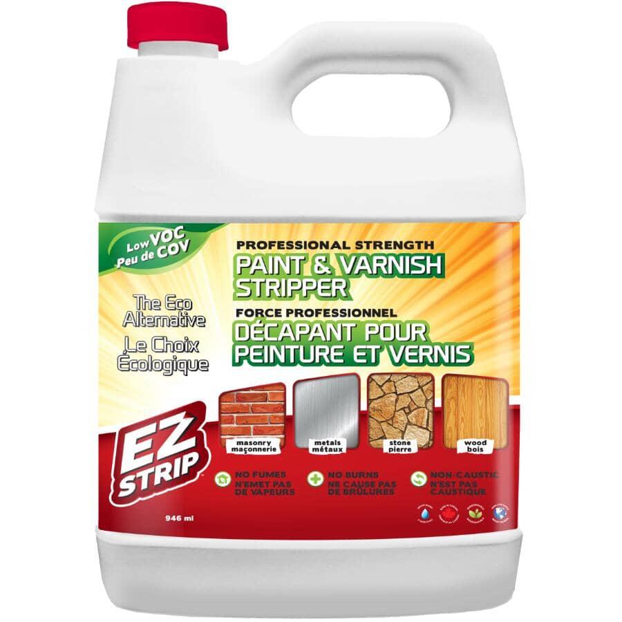 EZ STRIP:Paint & Varnish Stripper Gel - 946 ml