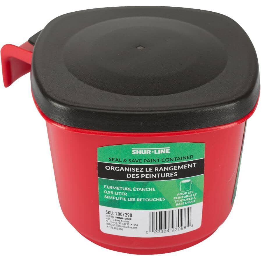 SHUR-LINE:Seal & Save Paint Container - 0.95 L