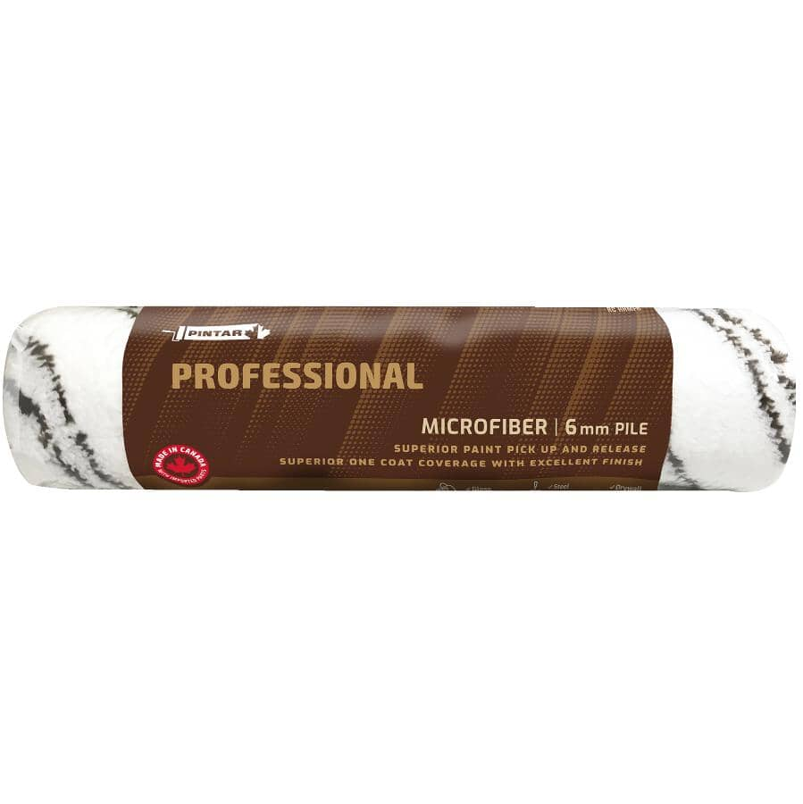 PINTAR PROFESSIONAL:Microfibre Paint Roller Cover - 240 mm x 6 mm