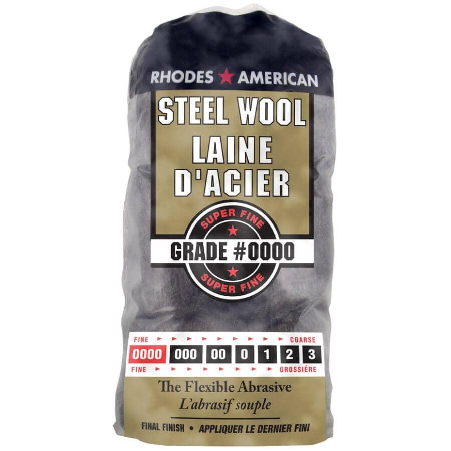RHODES AMERICAN:Steel Wool Pads - Super Fine #0000, 12 Pack