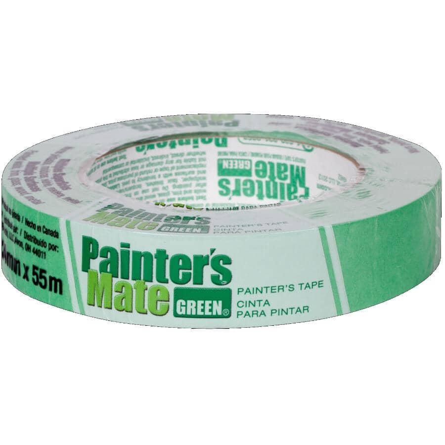 PAINTER'S MATE:Green Painter's Masking Tape - 24 mm x 55 m