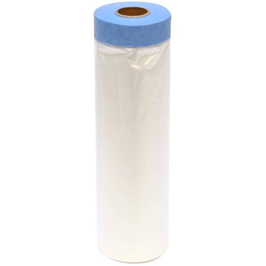 TRIMACO:Pellicule de masquage Tape & Drape, 4 pi x 72 pi