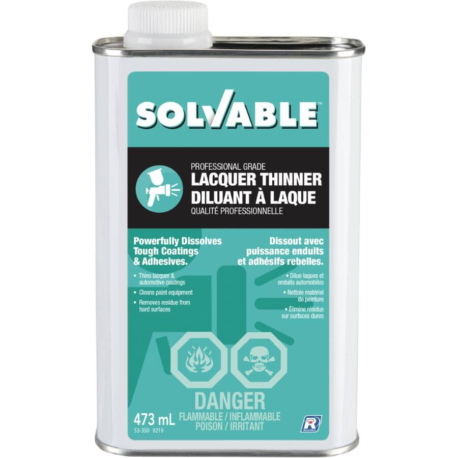 SOLVABLE:473mL Lacquer Thinner