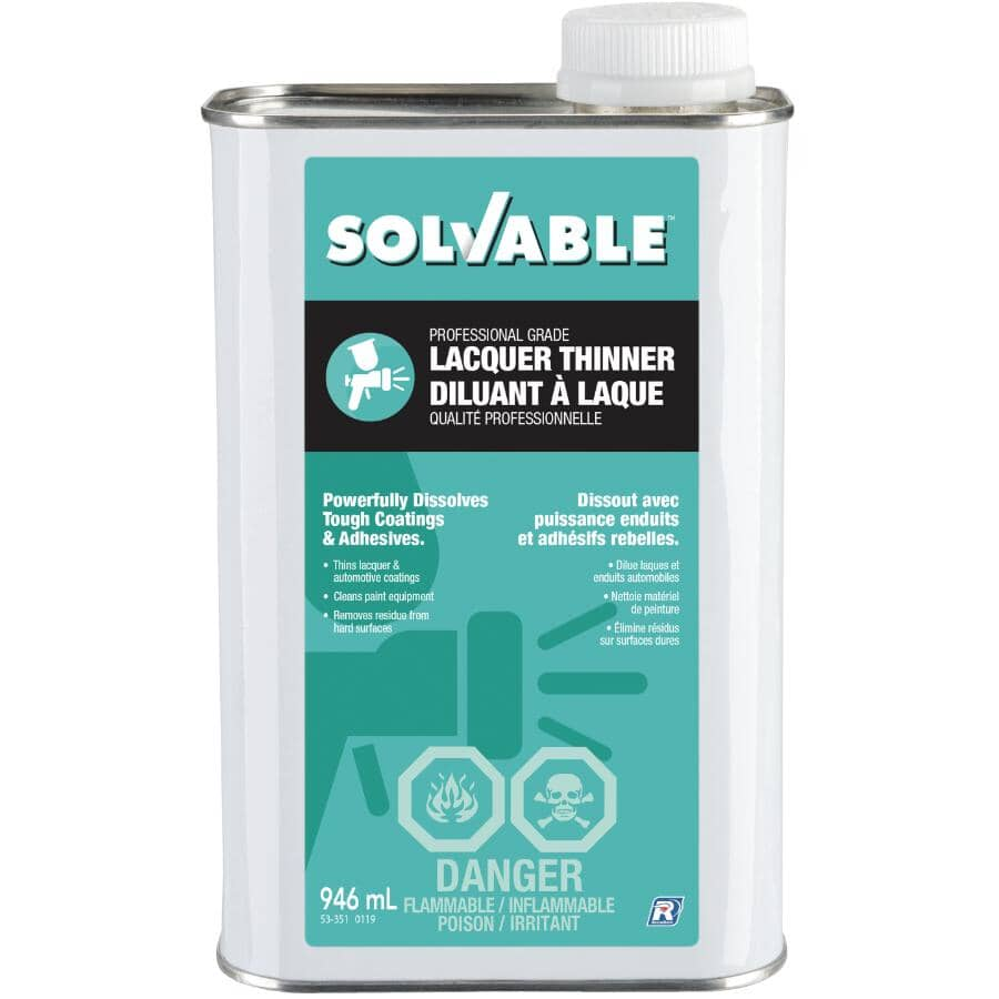 SOLVABLE:946mL Lacquer Thinner