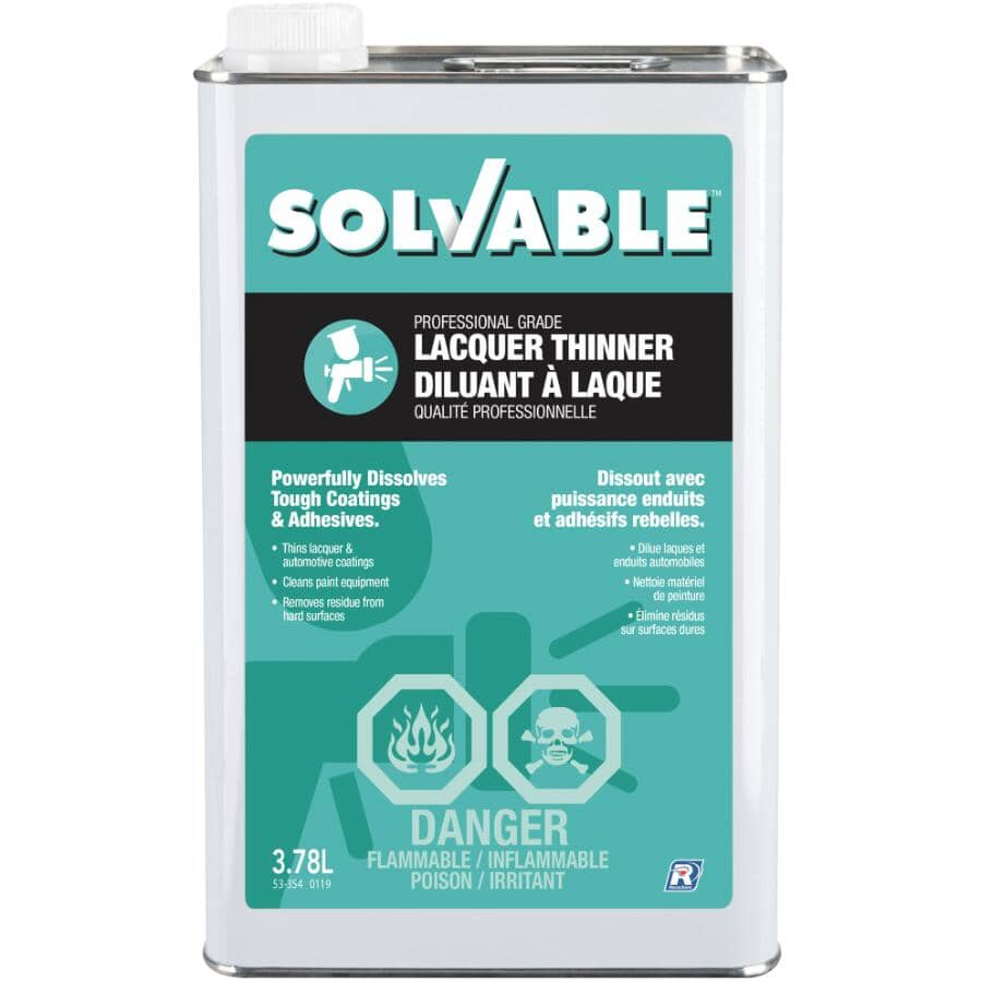 SOLVABLE:3.78L Lacquer Thinner