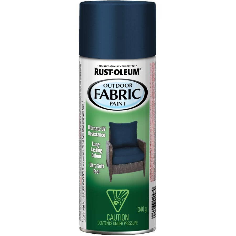 RUST-OLEUM:Outdoor Fabric Spray Paint - Navy, 340 g