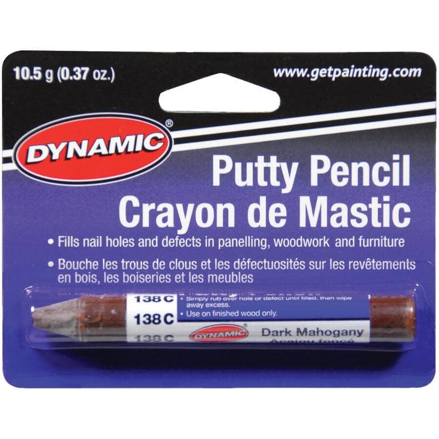 DYNAMIC:Crayon de mastic pour bois, acajou foncé