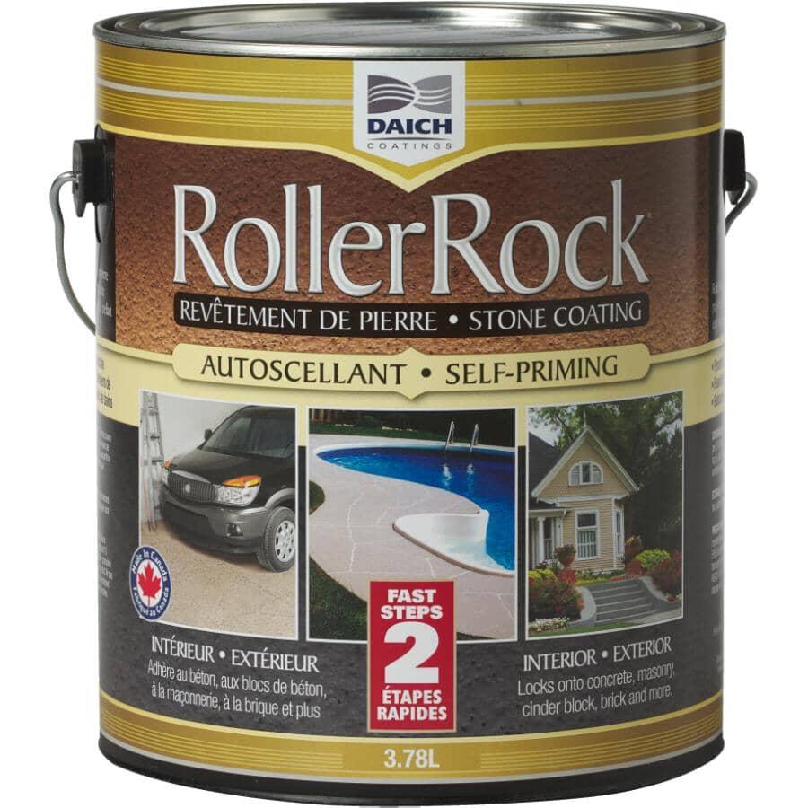 DAICH COATINGS:Autoscellant RollerRock à revêtement de pierre, 3,78 L