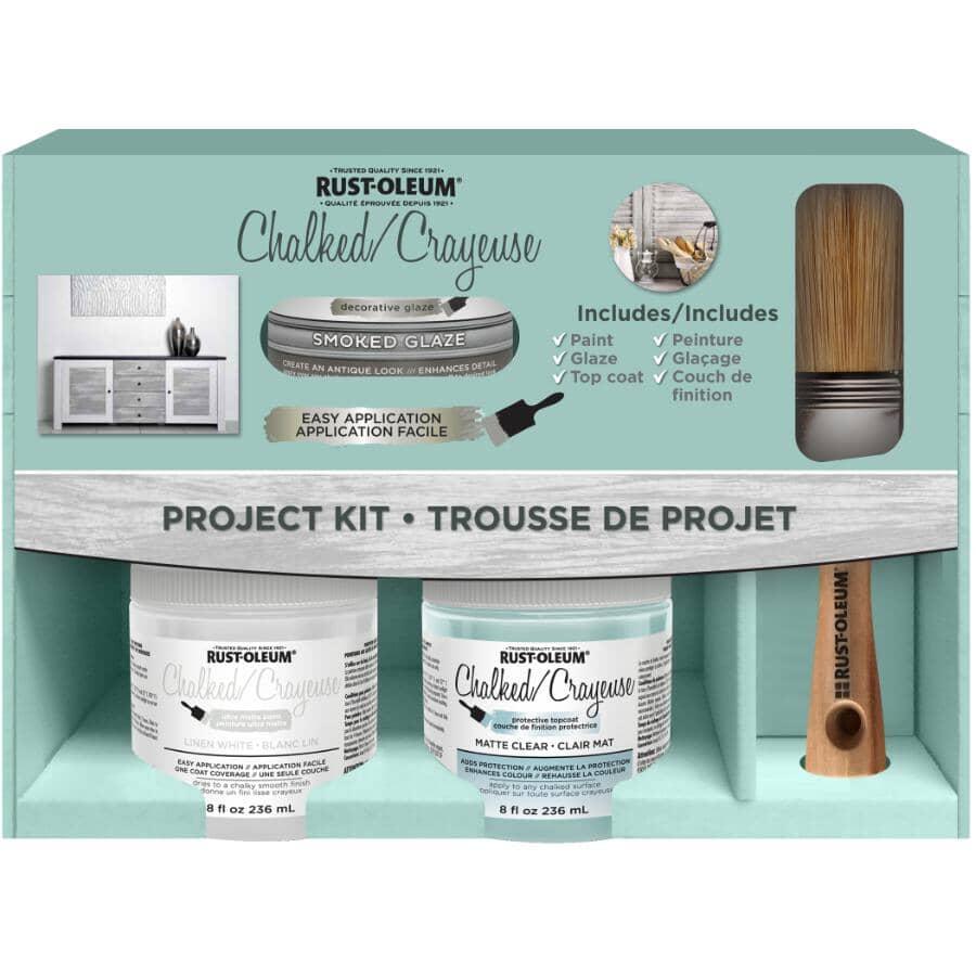 RUST-OLEUM:Chalked Ultra Matte Paint Project Kit