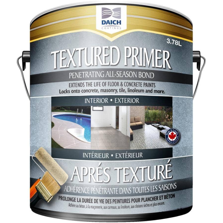 DAICH COATINGS:Apprêt texturé pénétrant en acrylique pour toute saison, 3,78 L