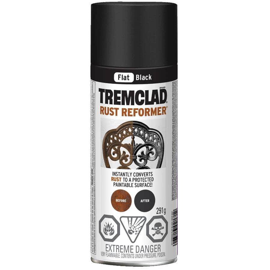 TREMCLAD:Rust Reformer Spray - Flat Black, 291 g
