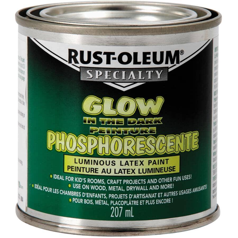 RUST-OLEUM:Glow in the Dark Latex Paint - 207 ml