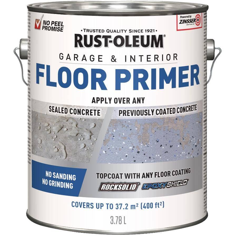 RUST-OLEUM:Garage & Interior Floor Primer - 3.78 L