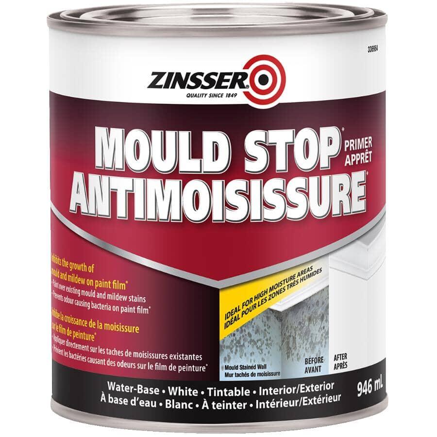 ZINSSER:Mould Stop Latex Primer - White, 946 ml