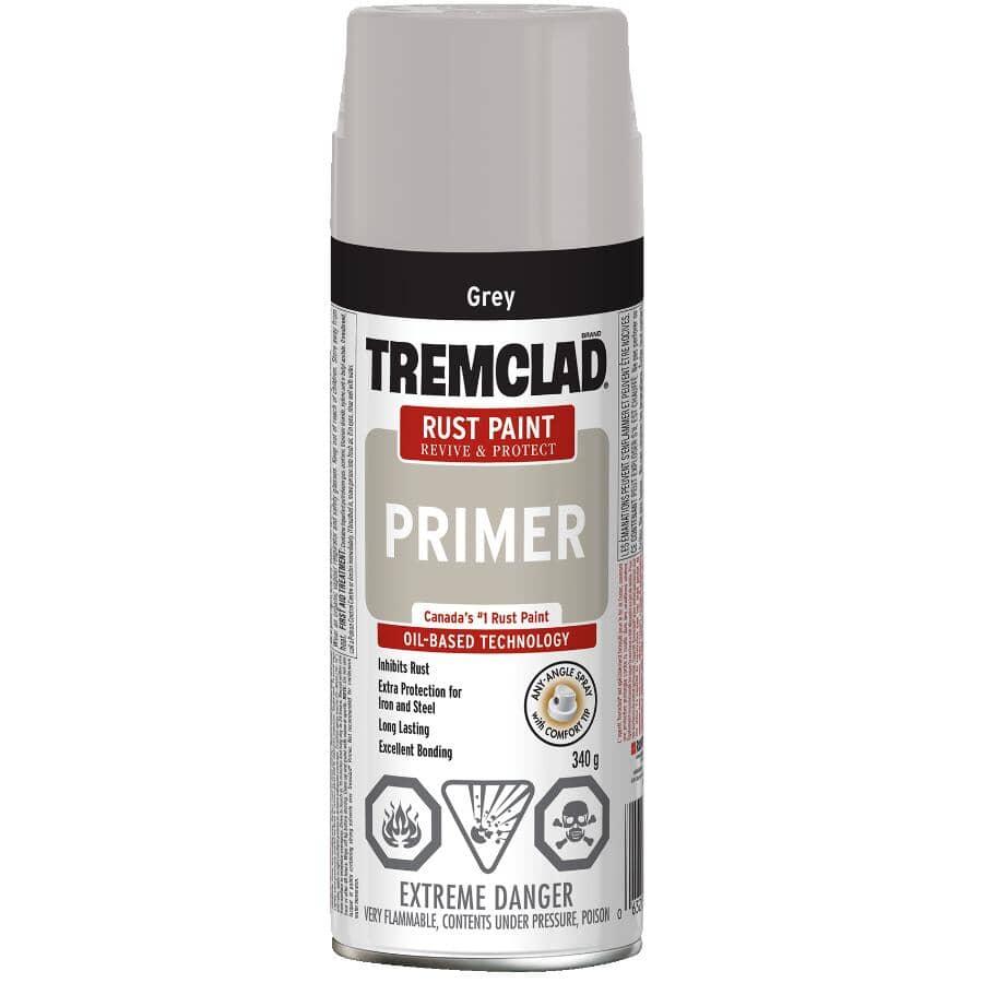 TREMCLAD:Rust Spray Primer - Grey, 340 g