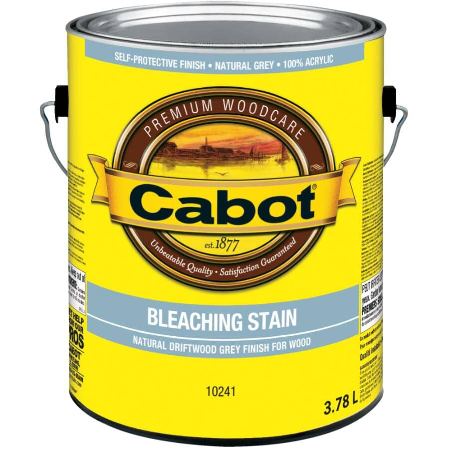 CABOT:Bleaching Stain - Natural Driftwood Grey, 3.78 L