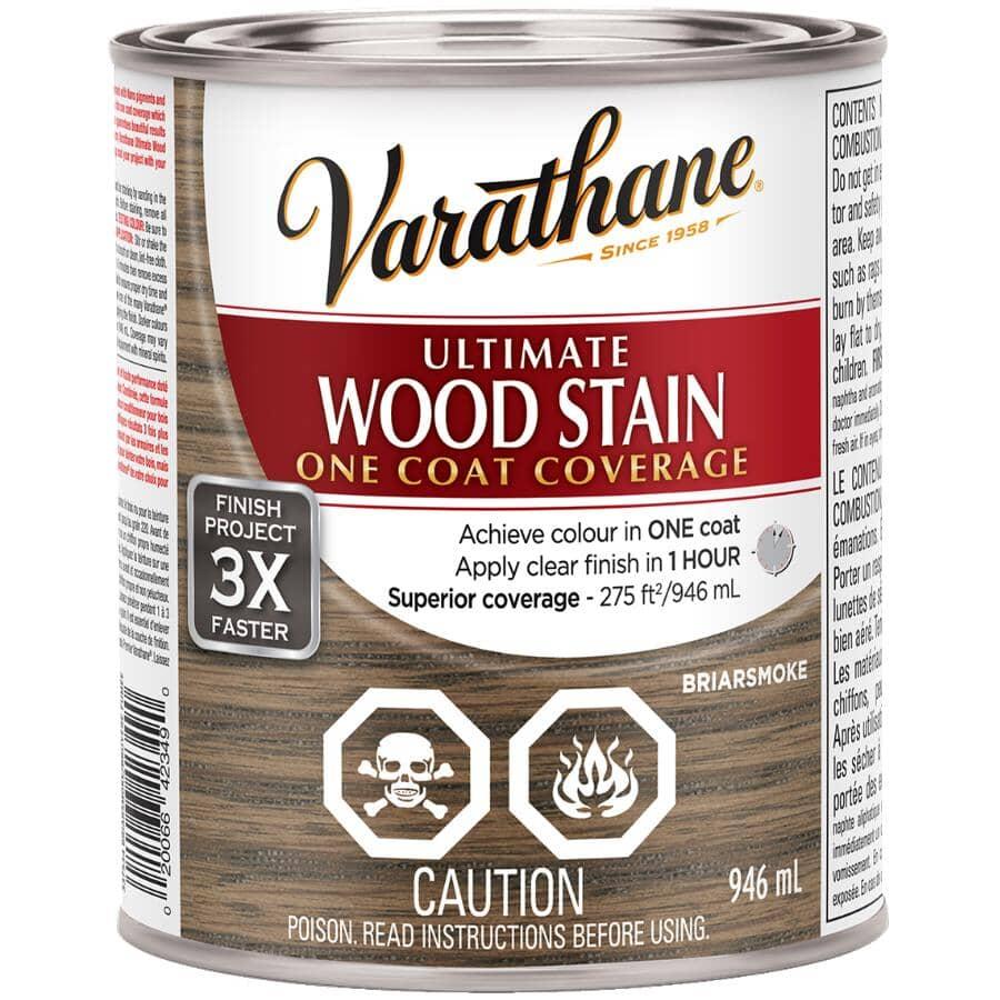 VARATHANE:Ultimate Wood Stain - Briarsmoke, 946 ml