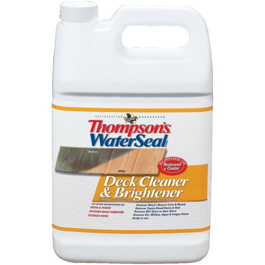 THOMPSON'S WATERSEAL:Deck Cleaner & Brightener - 3.78 L