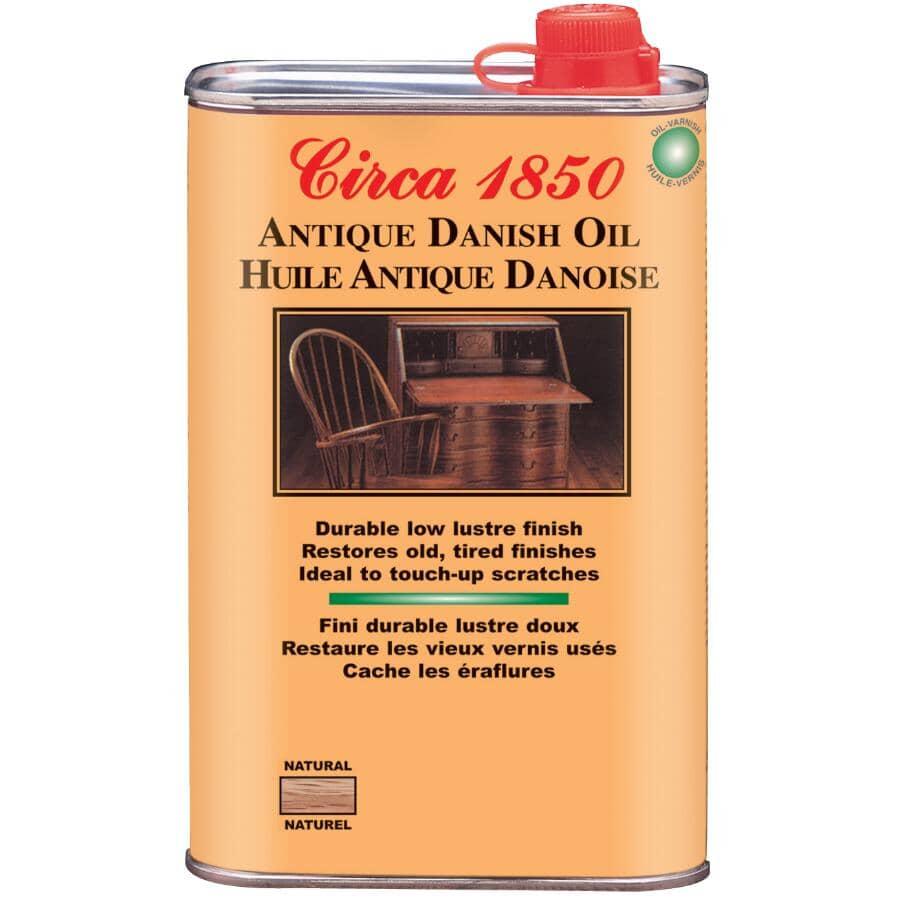CIRCA 1850:Antique Danish Oil - Natural, 1 L