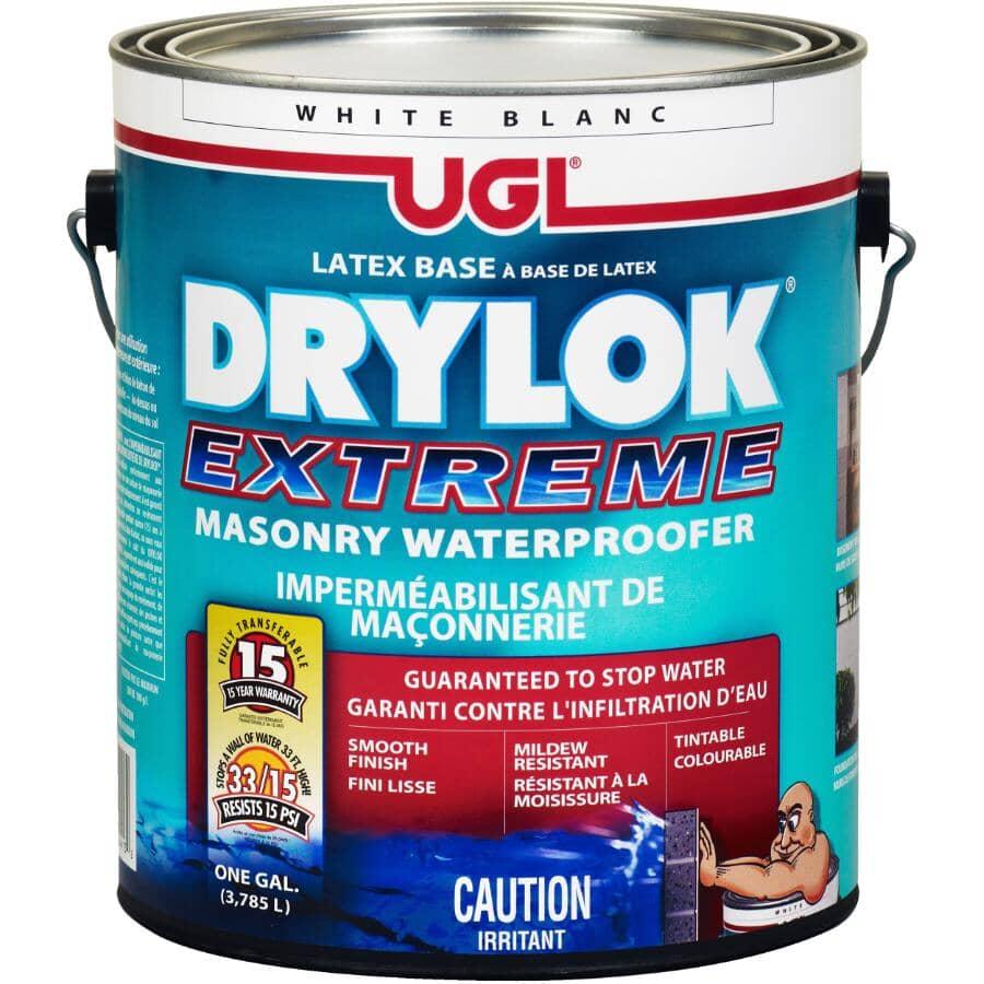 DRYLOK:Masonry Latex Base Waterproofer - Extreme White, 3.78 L