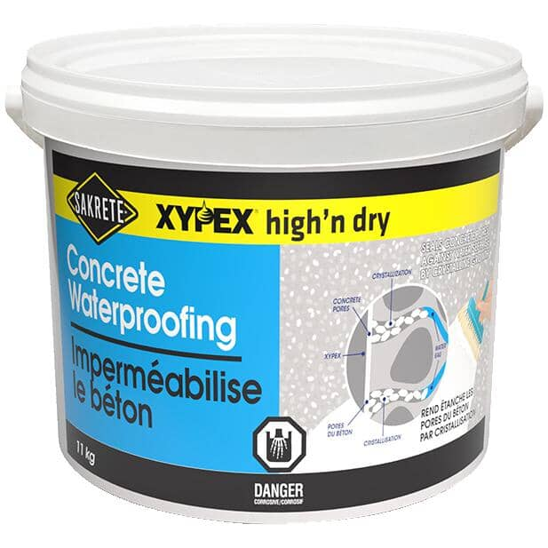 SAKRETE:Xypex High'N Dry Concrete Waterproofing - 11 kg
