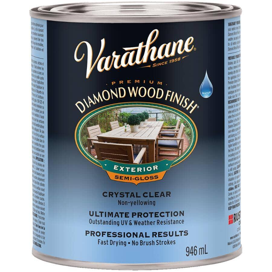 VARATHANE:Outdoor Diamond Wood Finish - Clear Semi-Gloss, 946 ml