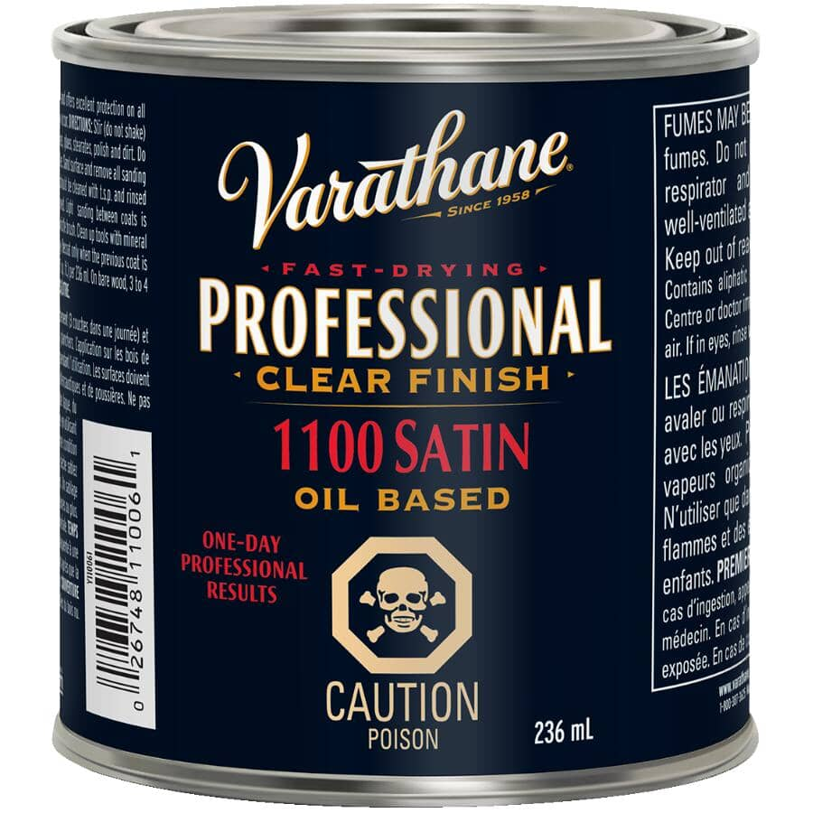 VARATHANE:Pro Finisher - for Floors, Clear Satin, 235 ml
