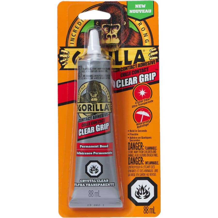 GORILLA:Clear Grip Contact Adhesive - 88 ml