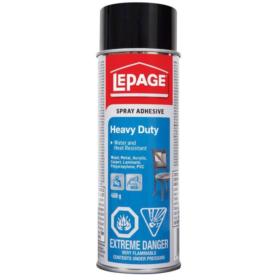 LEPAGE:Heavy Duty Spray Adhesive - 468 g