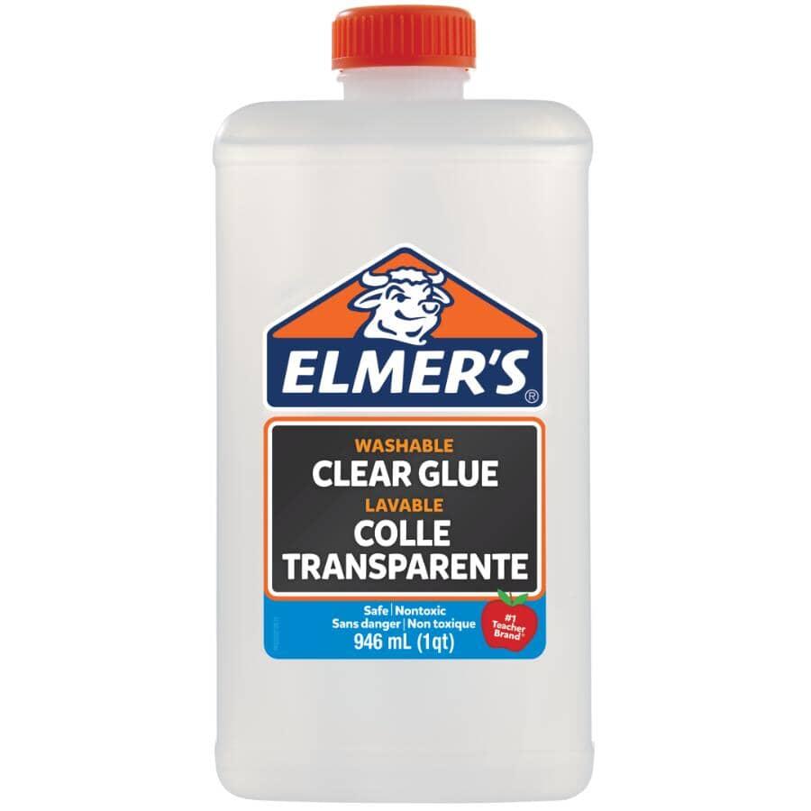 ELMER'S:Washable School Glue - Clear, 946 ml