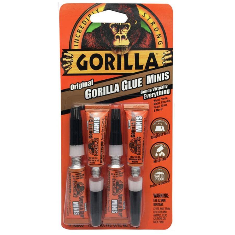 GORILLA:Paquet de 4 mini bâtons de colle originale