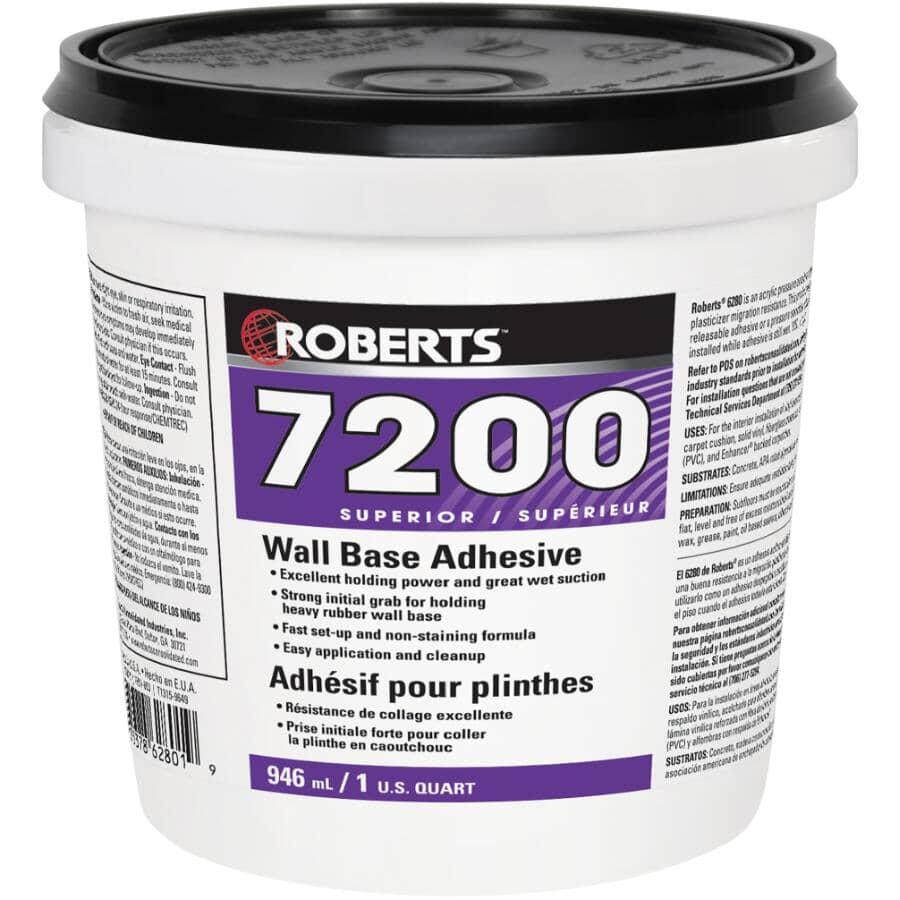 ROBERTS:7200 Wall & Cover Base Adhesive - 946 ml