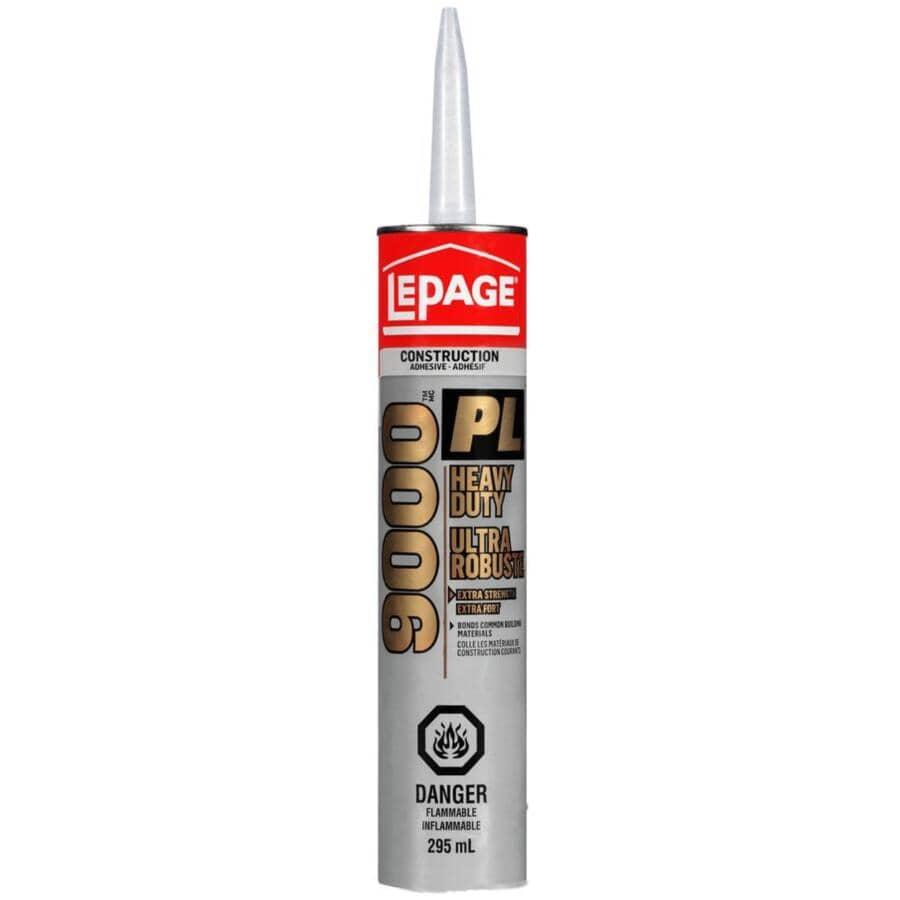 LEPAGE:PL 9000 Heavy Duty Construction Adhesive - 295 ml