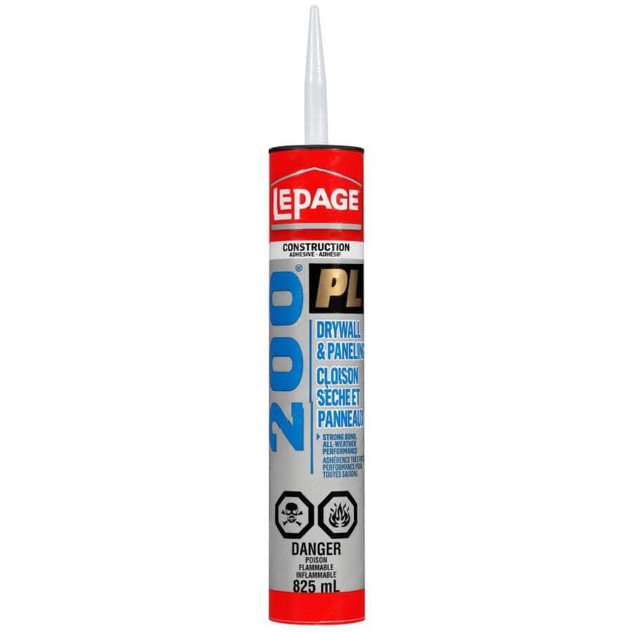 LEPAGE:PL 200 Drywall & Paneling Construction Adhesive - 825 ml