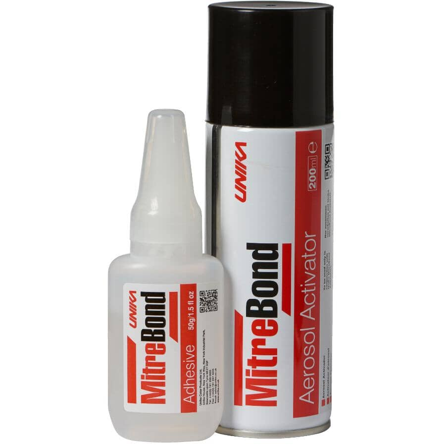 MITRE BOND:Instant 2-Part Adhesive - 50 g
