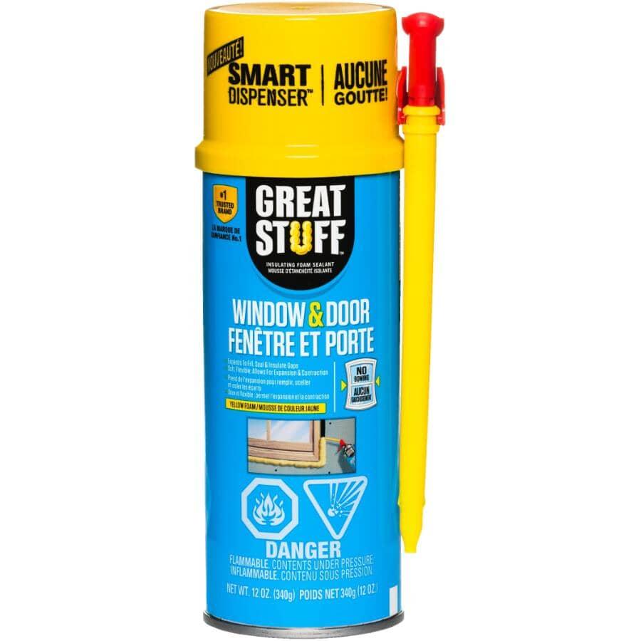 GREAT STUFF:Window & Door Insulating Foam Sealant - 340 g