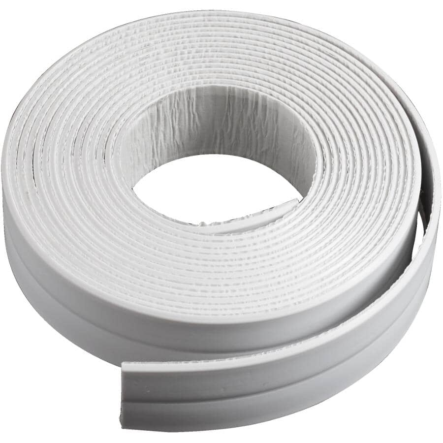 """SEAL-A-CRACK:Tub & Wall Waterproof Adhesive Tape - White, 7/8"""" x 11'"""