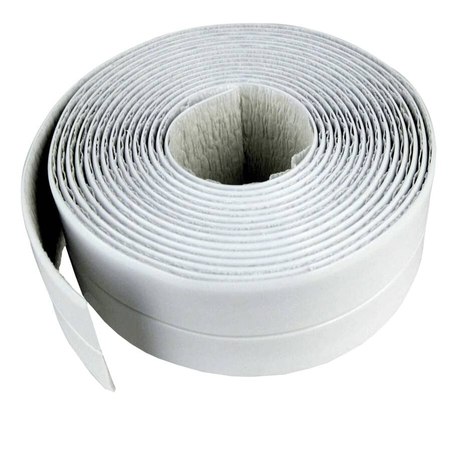 """SEAL-A-CRACK:Tub & Wall Waterproof Adhesive Tape - White, 1.5"""" x 11'"""