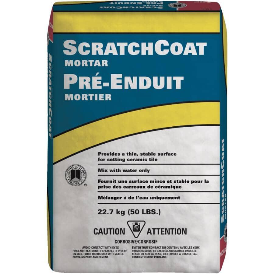 CUSTOM BUILDING PRODUCTS:50lb Scratch-Coat Tile Mortar